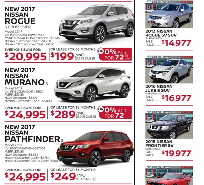 Model Year End Deals Hurry In Before They Are Gone Nissan Of